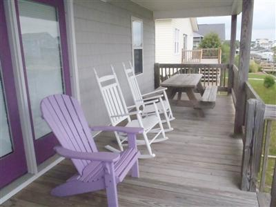 canal porch/table