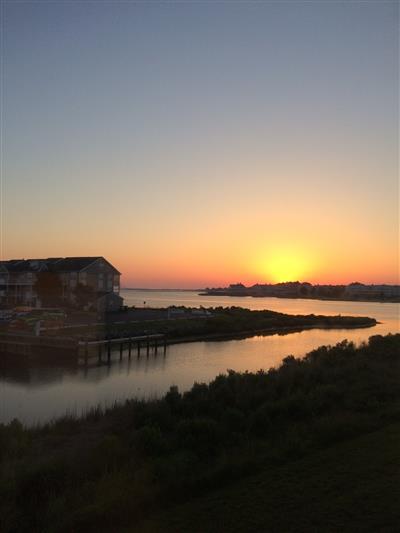Sunrise from Master